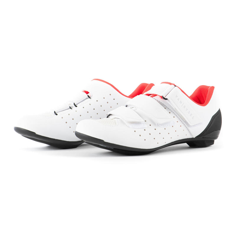 RCR500 Women's Road Cycling Shoes - White