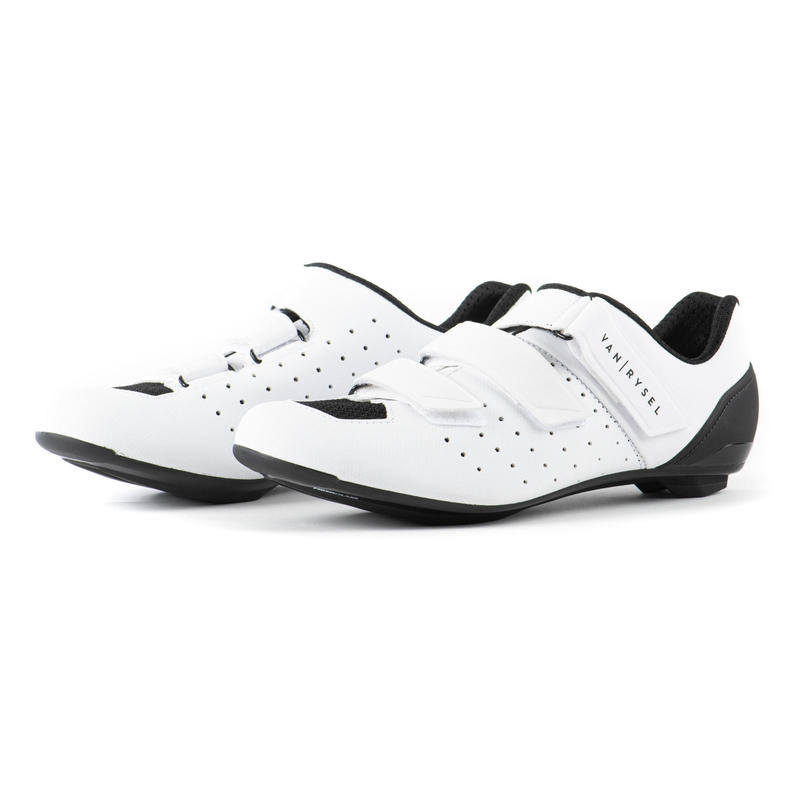 RCR500 Road Cycling Shoes - Ice White