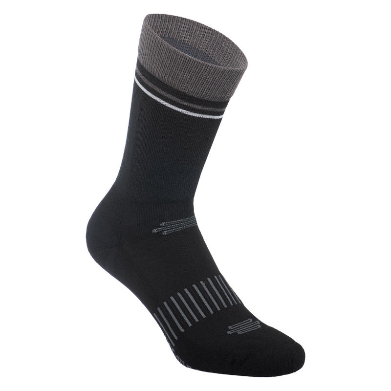 900 Winter Cycling Socks - Black/Grey