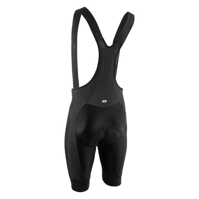 公路自行車吊帶短車褲Racer-黑色