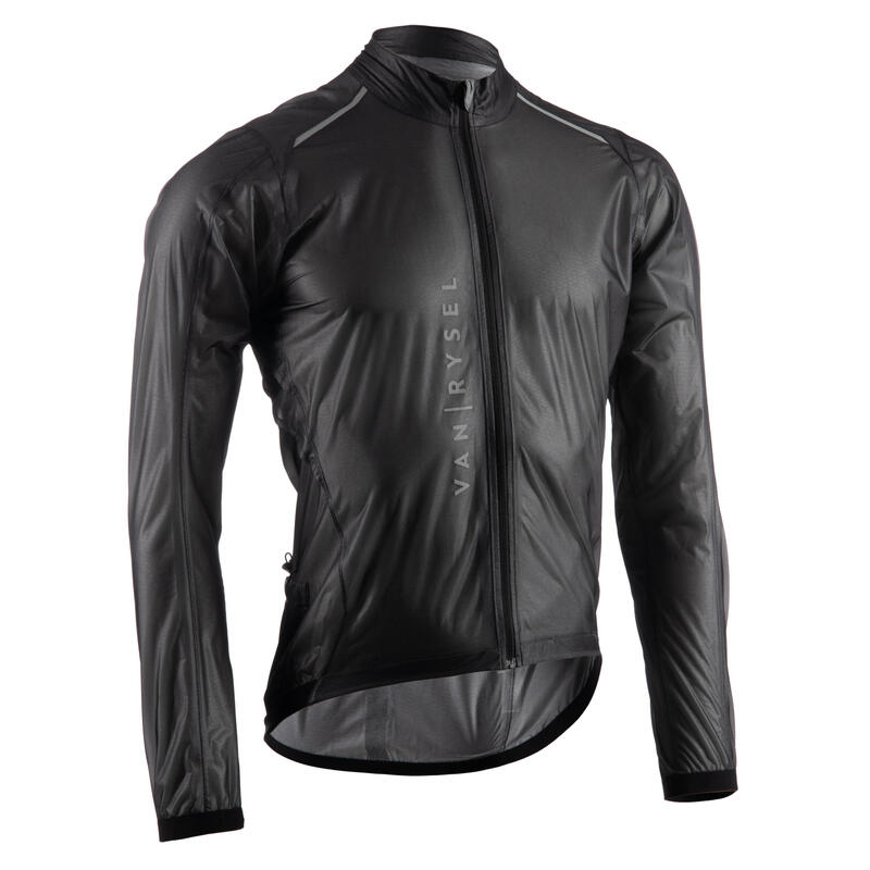 Rainproof Jacket Ultralight Racer - Black