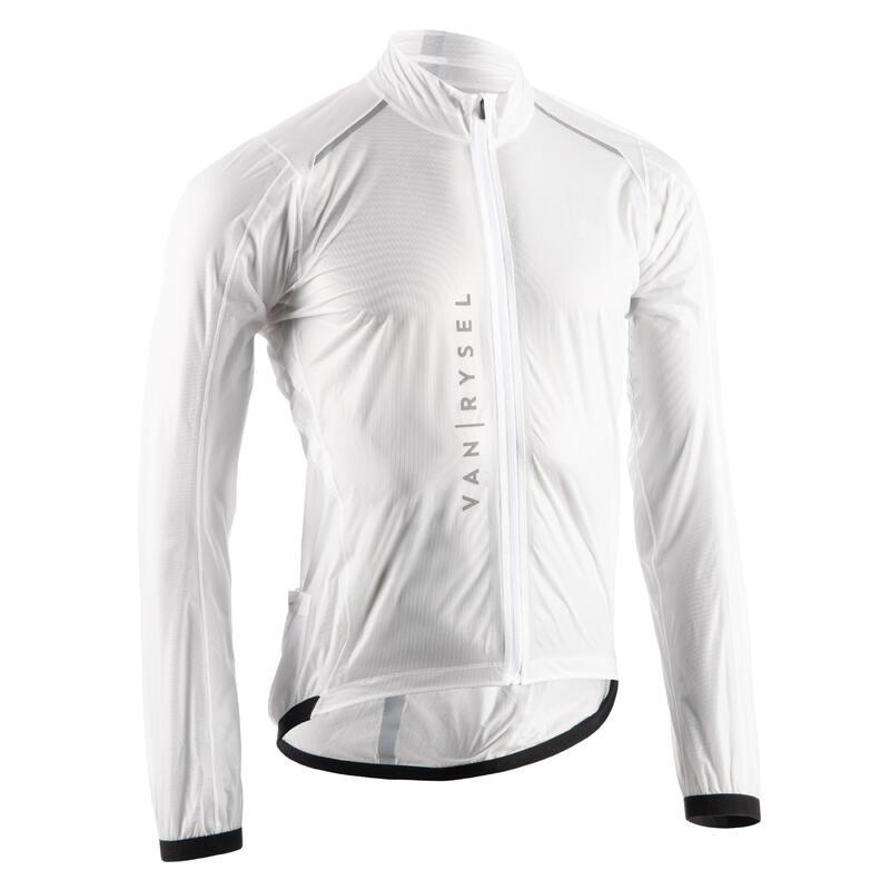 RCR Ultralight Packable Showerproof Jacket - White