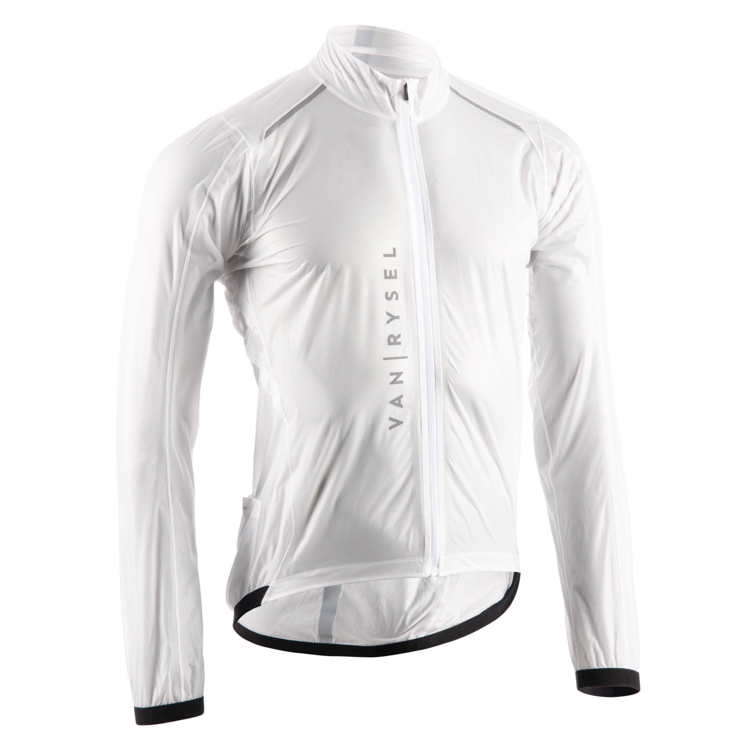 Jachetă ploaie Ultralight Alb imagine
