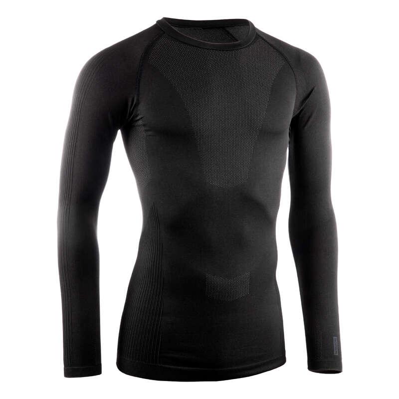 UNDERSTÄLL LANDSVÄG KALL VÄDERLEK HERR Herr - Undertröja TRAINING 500 svart VAN RYSEL - Underkläder