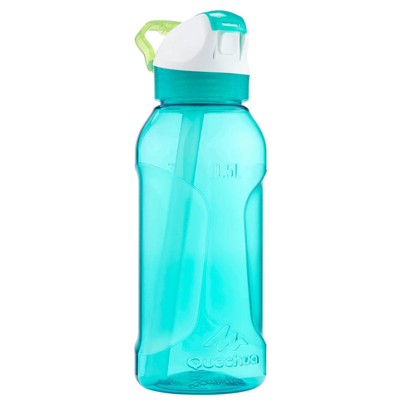 Hiking flask 900 instant stopper with pipette 0.5 litre Tritan - Turquoise