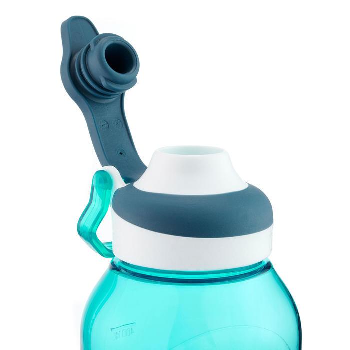 Drinkfles met sneldop 500 0,5 liter plastic (Tritan) turkoois