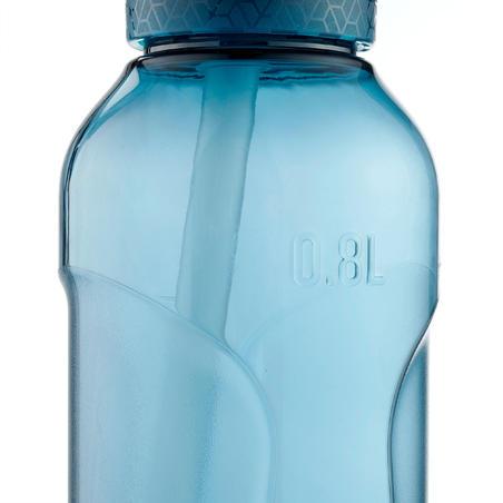 Bidón senderismo. 900 apertura instantánea pipeta 0.5 Tritan azul petróleo