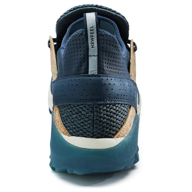NW 500 FLEX-H MEN'S NORDIC WALKING SHOES - BLUE