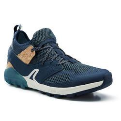 Zapatillas Marcha Nórdica NW 500 Hombre Azul Transpirables