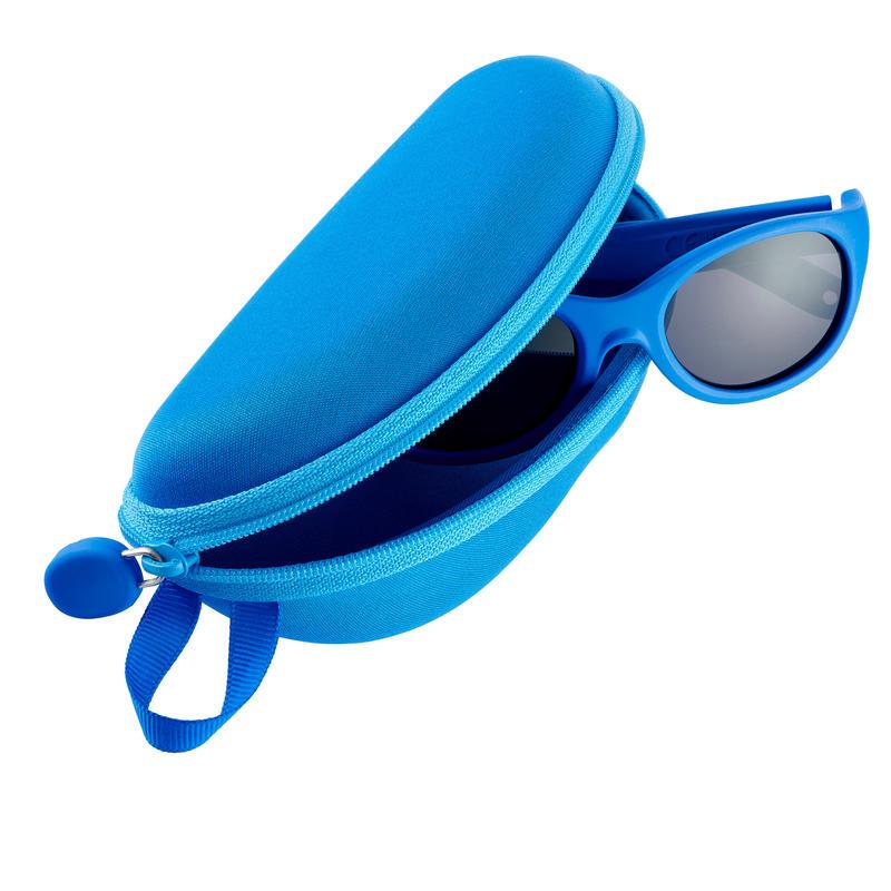 Kid's Mountain Hiking Rigid sunglasses case – CASE 560 JR - Blue