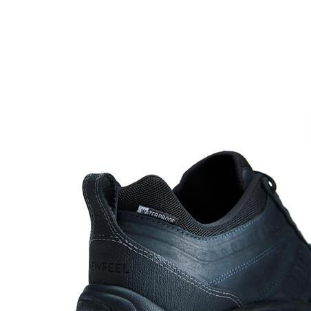 Мужские водонепроницаемые кожаные кроссовки для активной ходьбы Nakuru Novadry