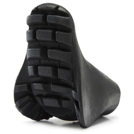 Gummipuffer 16mm für PW Nordic Walkingstöcke - Multifitpad schwarz