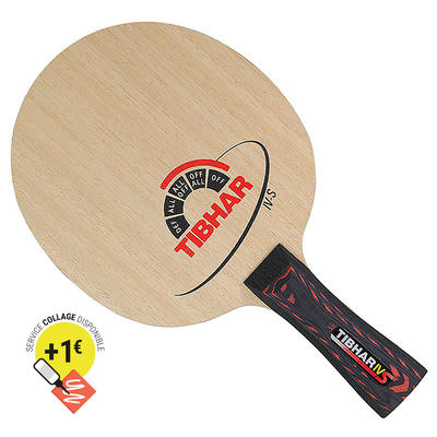 BOIS DE RAQUETTE DE TENNIS DE TABLE IV S
