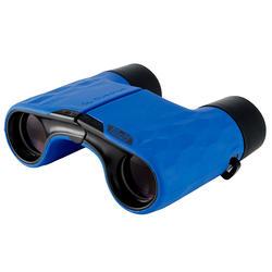 Verrekijker voor wandelen volwassenen MH B140 fixed focus x10 blauw