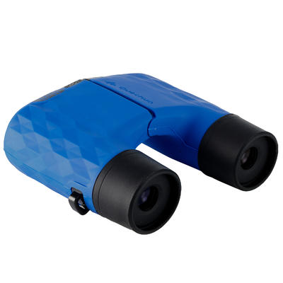 Jumelles randonnée sans réglage - MH B140 - adulte - grossissement x10 bleues
