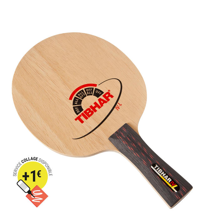 BOIS DE RAQUETTE DE TENNIS DE TABLE IV L