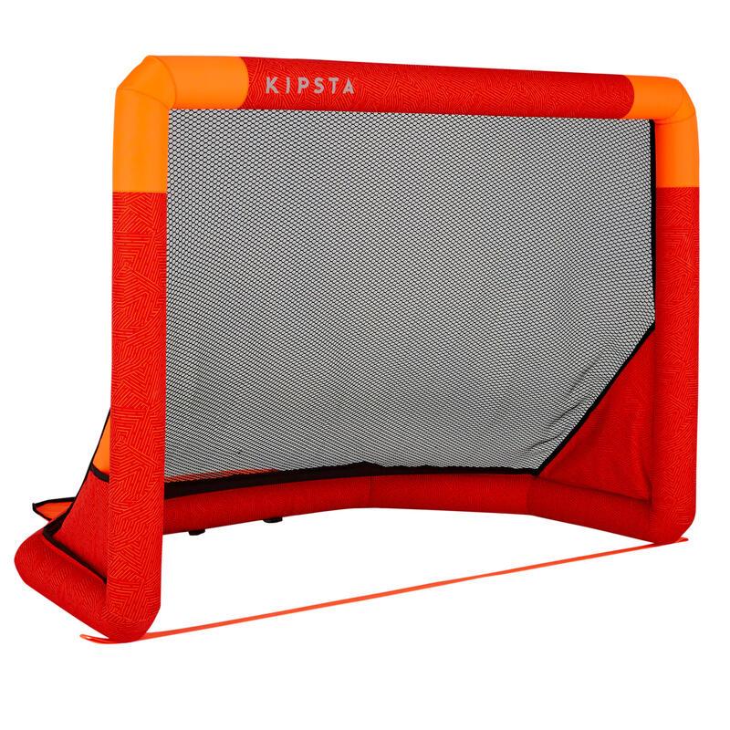 Portería de fútbol hinchable AIR KAGE PUMP rojo naranja