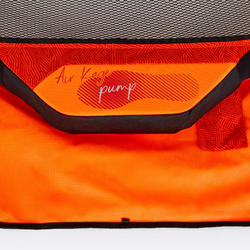 Inflatable Football Goal Air Kage Pump - Red/Orange