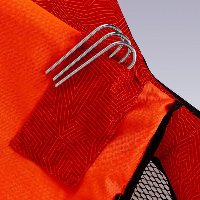Inflatable Beach Football Goal Air Kage Pump - Red/Orange