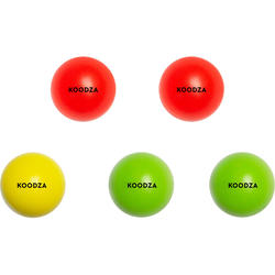 Zielkugeln Boule Wettkampf aus Buchsbaumholz 5Stk.
