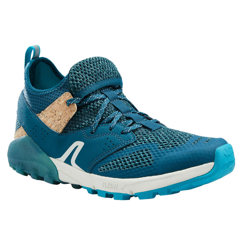 Ademende schoenen voor nordic walking NW 500 turquoise