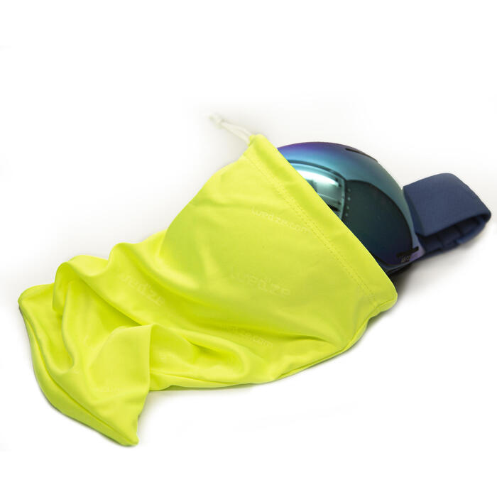 Opbergzakje voor ski- en snowboardbril GB 100 geel