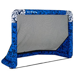 Porta calcio gonfiabile AIR KAGE blu-bianco