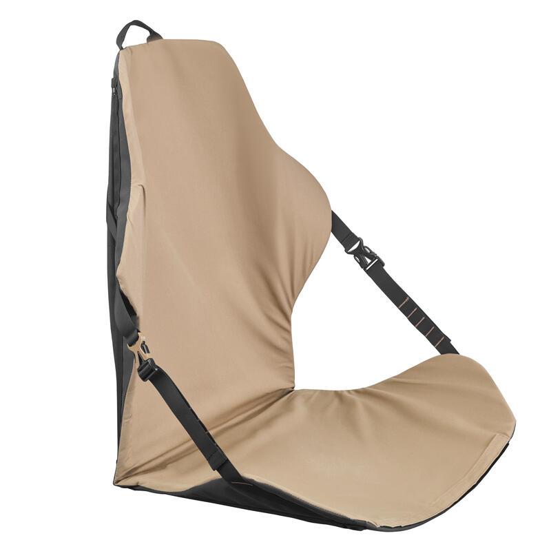 Compacte stoel voor woestijntrekking meerdere posities Desert 500 bruin