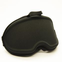 單/雙滑雪護目鏡袋P 500 - 黑色