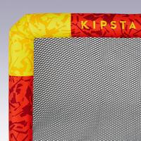 Надувні ворота Air Kage для футболу - Червоні/Жовті