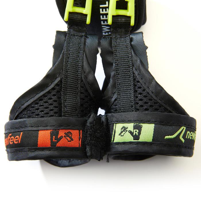 Gantelets de marche nordique enfant NW G100 JR noir