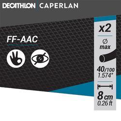 Anti-emmeleur FEEDER coudé FF - AAC 8 cm