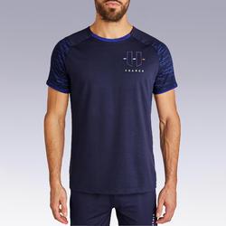 T-shirt de football adulte FF100 France