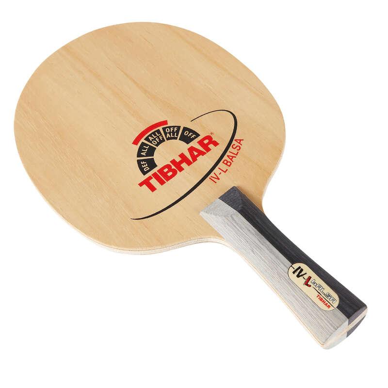 ACADEMIC BLADES & RUBBERS Table Tennis - Tibhar IV-L Balsa Table Tennis Blade TIBHAR - Table Tennis Accessories