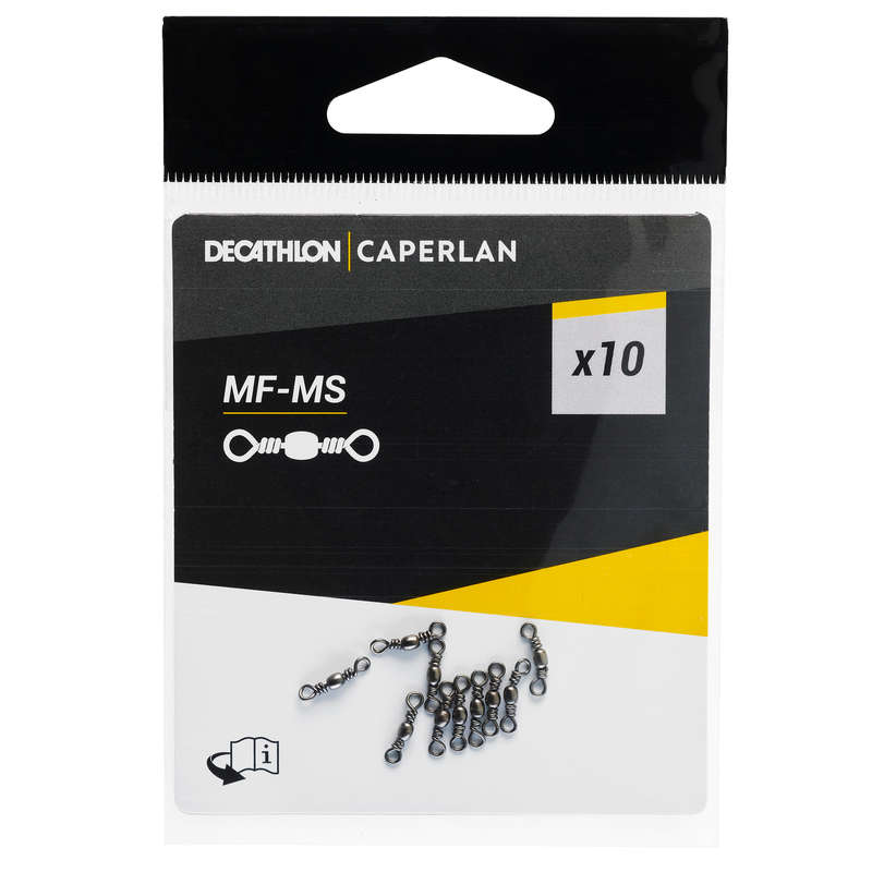 MATCH FLOATS, ACCESSORIES Fishing - Micro swivel MF - MS CAPERLAN - Coarse and Match Fishing