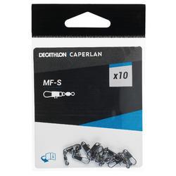 Accessoires flotteur anglais Émerillon + agrafe MF - S