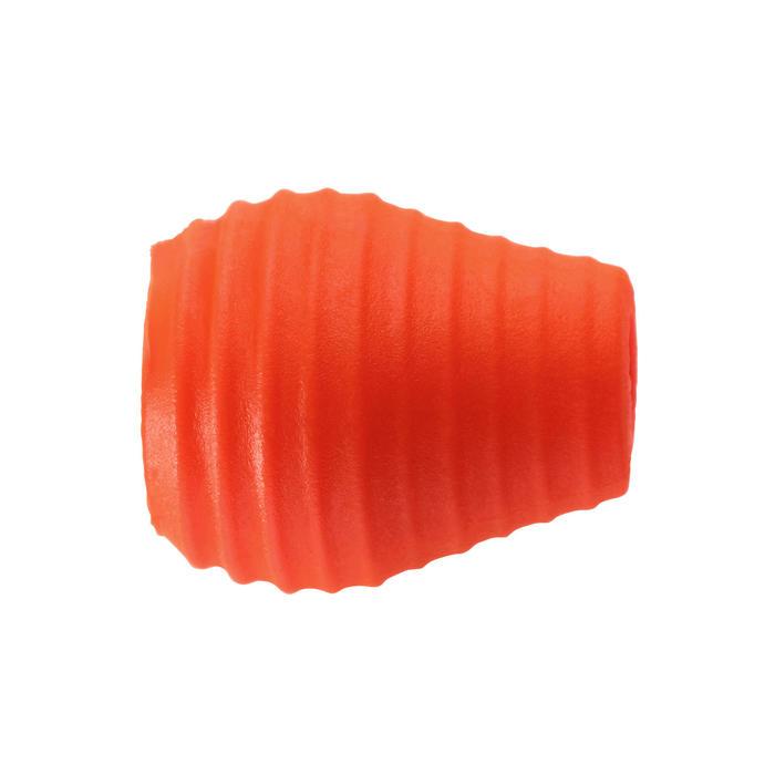 Zachte kralen elastiekstopper voor statisch vissen maat XXL en XXXL