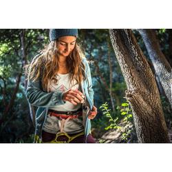 Women's Climbing Short Sleeve Stretch T-Shirt Turquoise