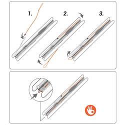 Gummizüge für Schnurhalter PF-LF