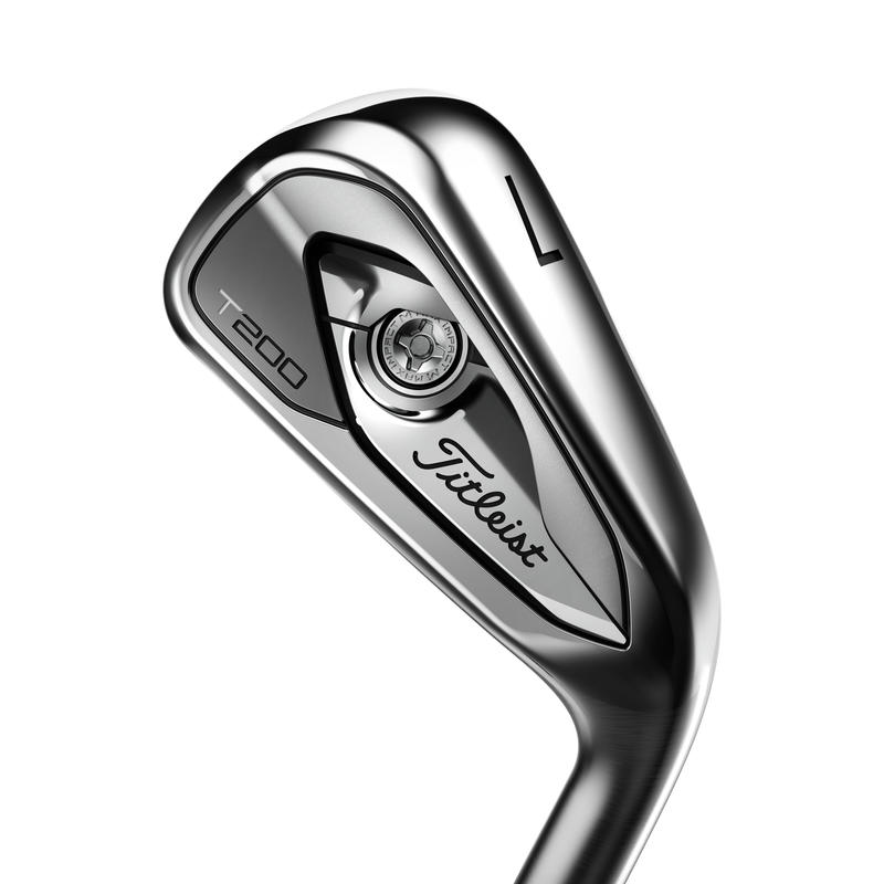 SET OF GOLF IRONS TITLEIST T200 5-PW RIGHT HANDED REGULAR