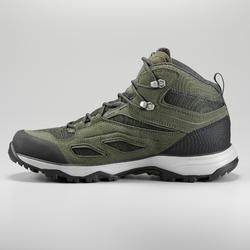 MH100 Men's Waterproof Hiking Shoes - Khaki