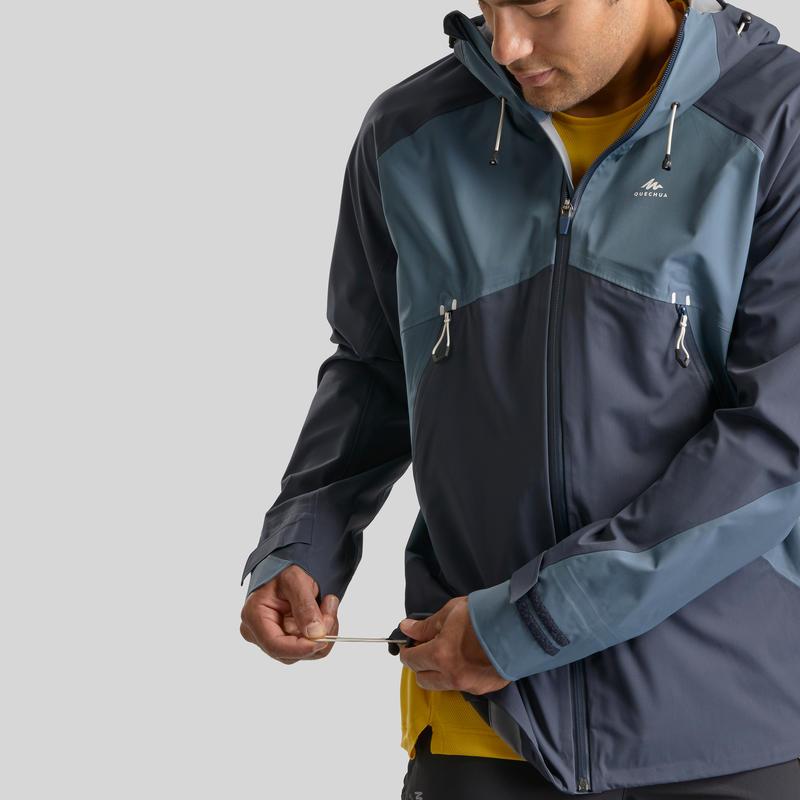 Men's waterproof mountain walking jacket MH500