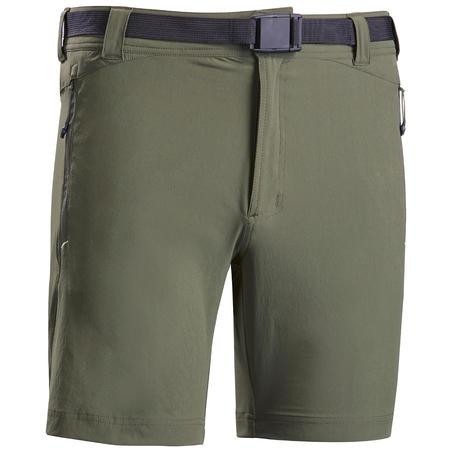 Короткі чоловічі шорти 500 для гірського туризму - Хакі