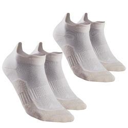 Chaussettes randonnée nature Lin - NH100 Mid - X 2 paires