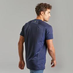 Men's Mountain hiking short-sleeved T-Shirt MH500