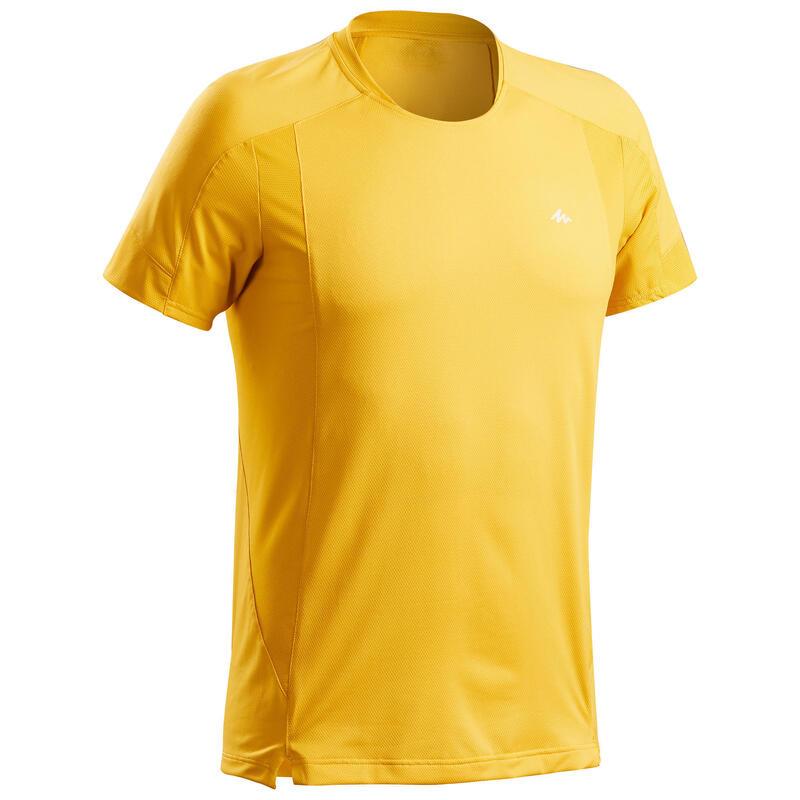 T-shirt montagna uomo MH 500 ocra
