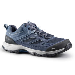 Men's mountain hiking shoes - MH100 - Blue