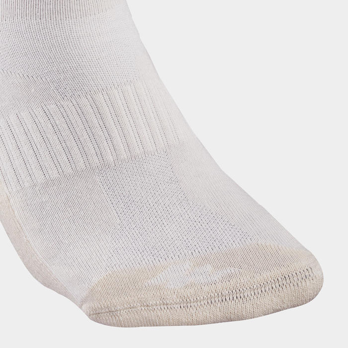Sokken voor wandelen in de natuur - NH100 mid - linnen 2 paar