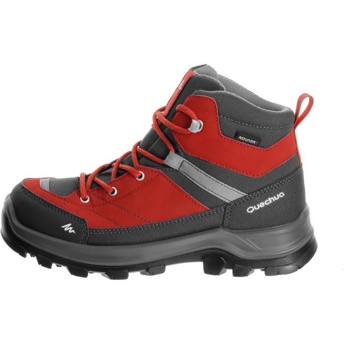 Chaussures de randonnée enfant Forclaz 500 Mid imperméables - 180073