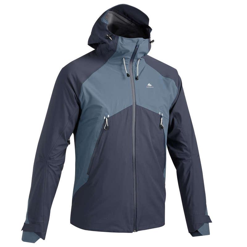 GIACCHE MONTAGNA UOMO Sport di Montagna - Giacca uomo MH500 azzurra QUECHUA - Trekking uomo
